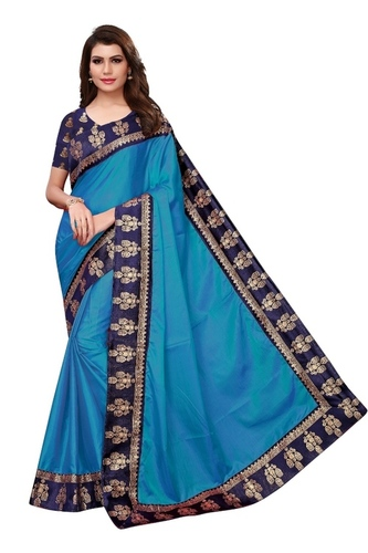 Latest Designer Papergoli Silk Saree