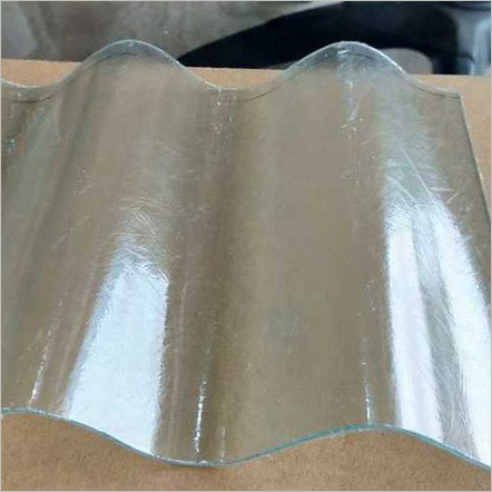 Industrial Fiber Corrugated Sheet