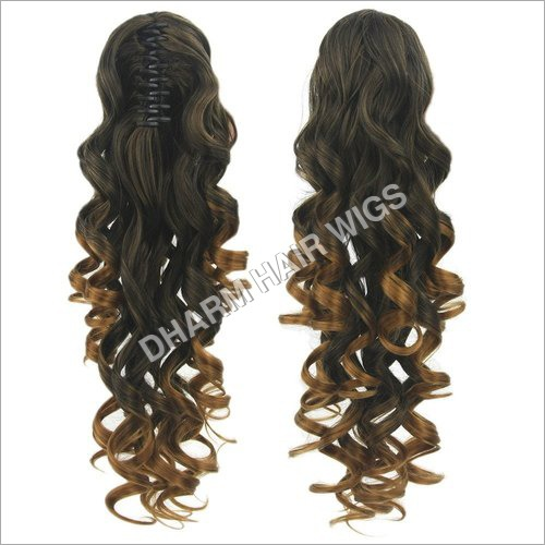 Long Curly Hair Extension Wig