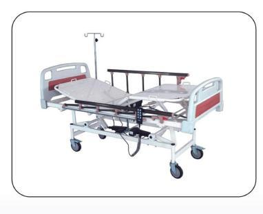 ICU Bed - Electric With ABS Panel & Aluminum Safety Rails