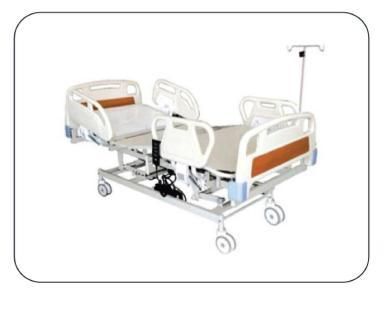 ICU Bed - Electric With ABS Panel & Safety Rails