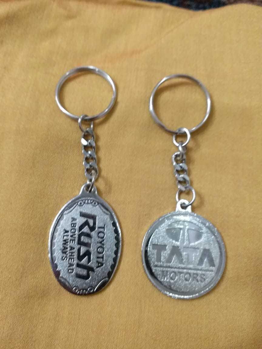 Metal Nickle Plating Keychain