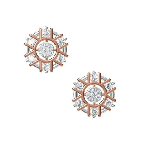Diamond Earring TCW 0.802 14K gold 5.4 gm