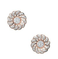 Diamond Earring TCW 0.644 14K gold 4.9 gm