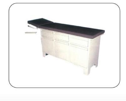 Examination Couch With Cabinet & Drawers