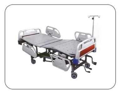 ICU Bed With ABS Panel & Safety Rail
