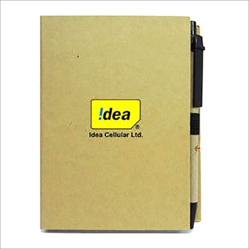 Eco Sticky Note Pad With Pen