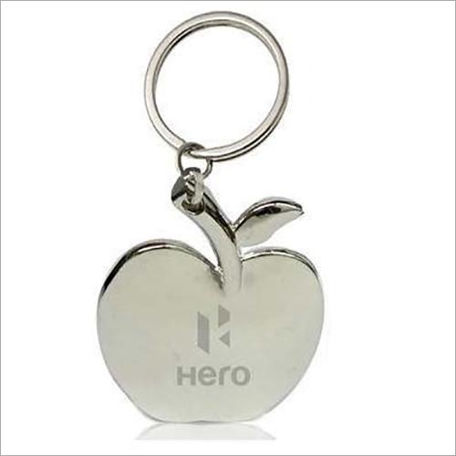 Apple Shape Metal Keychain