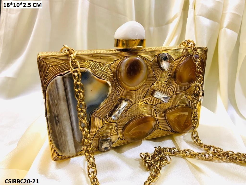 Exclusive Handcrafted Brass Clutches