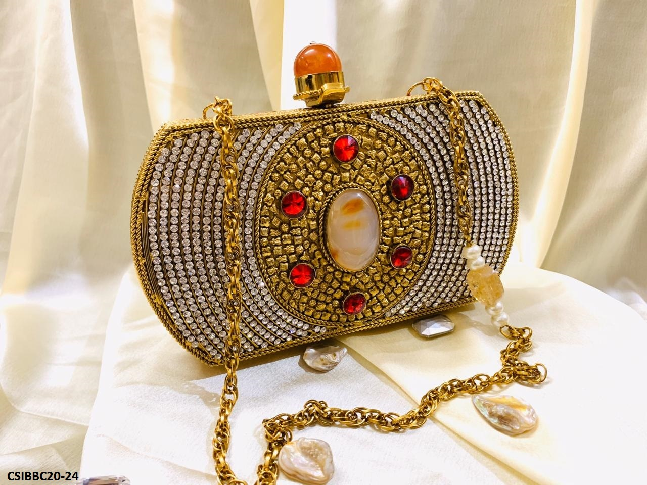 Exclusive Handmade Brass Clutches