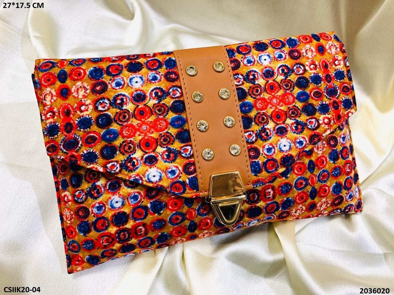 Ikkat Printed Sling Bag