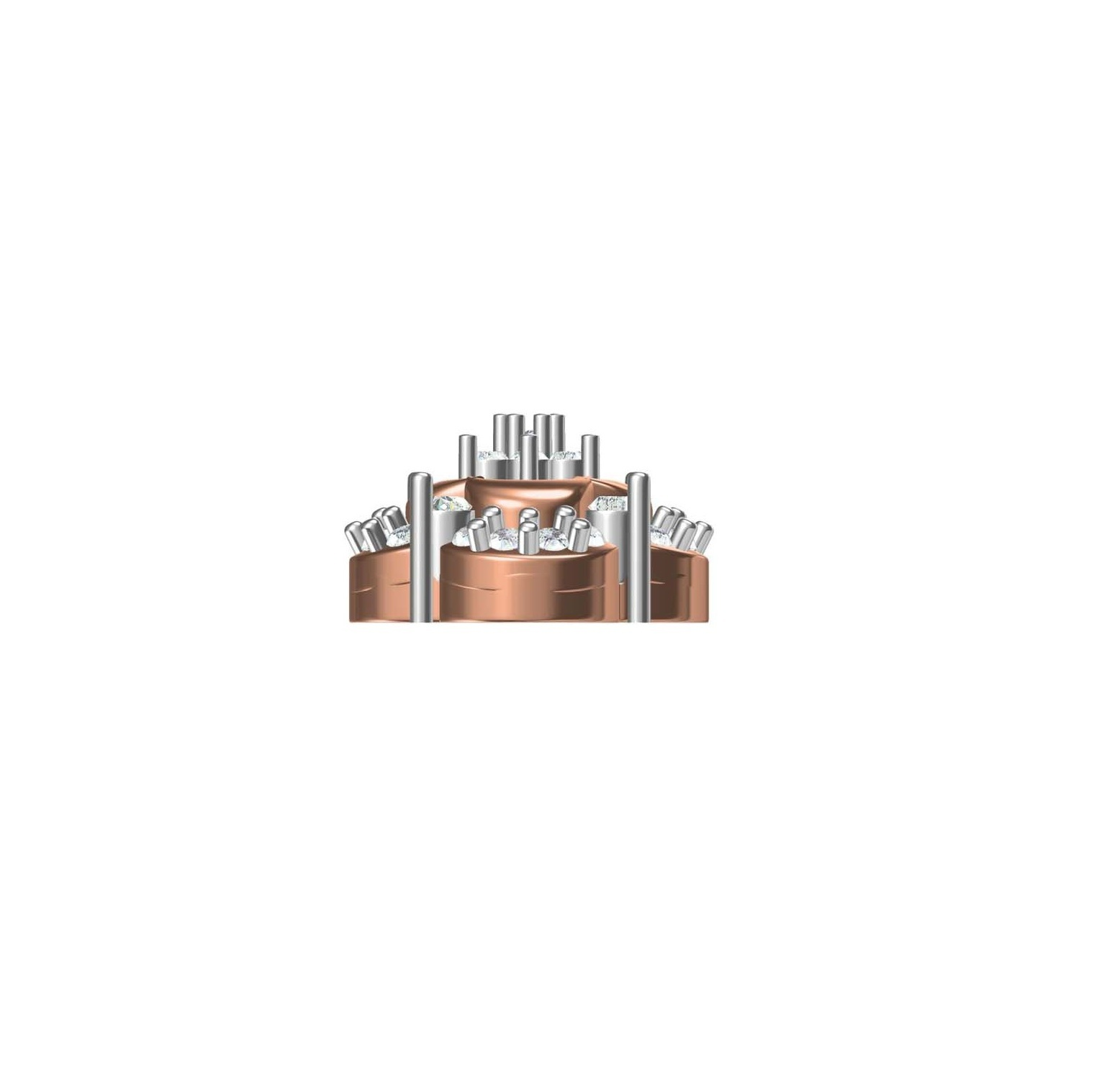 Diamond Earring TCW 0.788 14K gold 4.6 gm