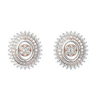 Diamond Earring TCW 0.890 14K gold 3.1 gm