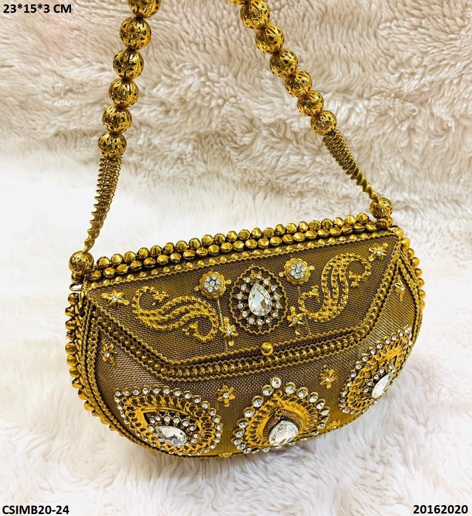 Handmade Metal Clutch Bags