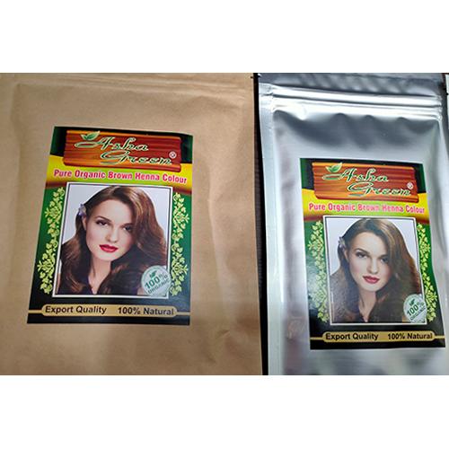 Pure Organic Brown Henna Colour