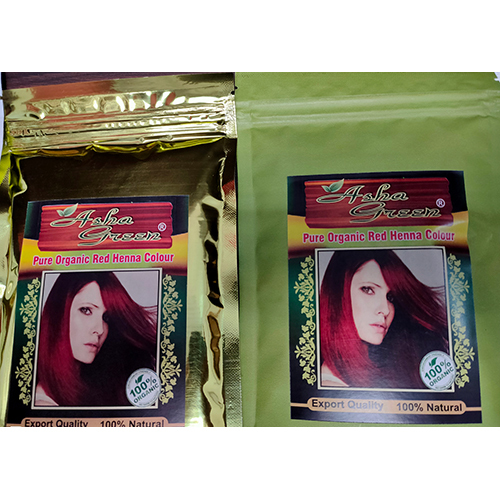 Pure Organic Red Henna Colour