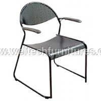 Metal perforated chairs