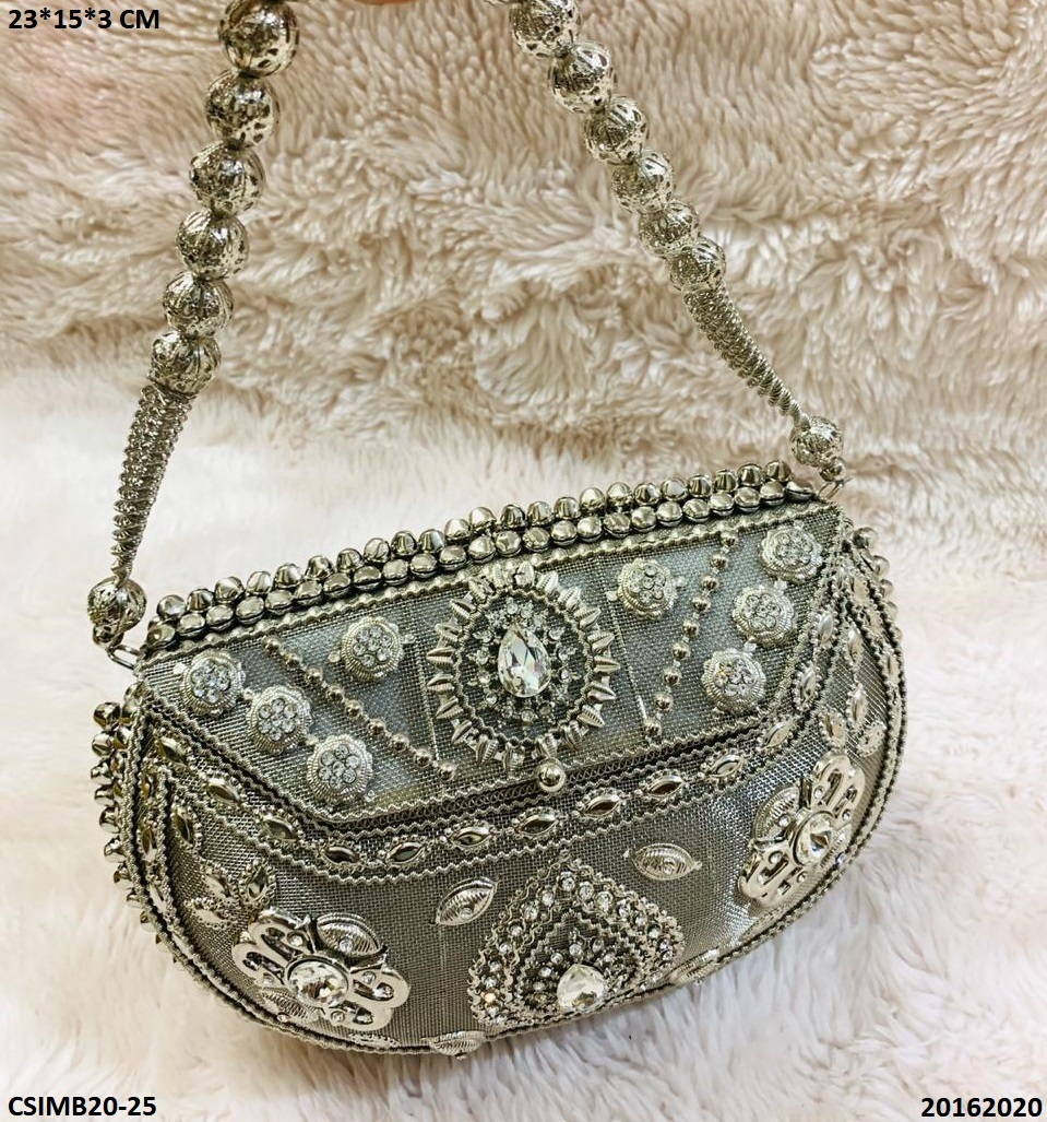 Exclusive Stone Metal Bag