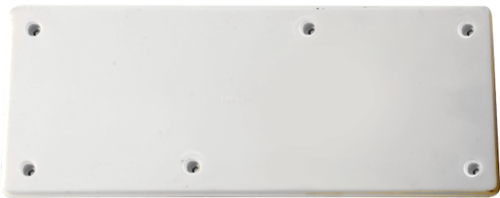 4X4 PVC Plain Board
