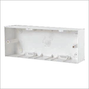 6 Way Surface Mounting Gang Box