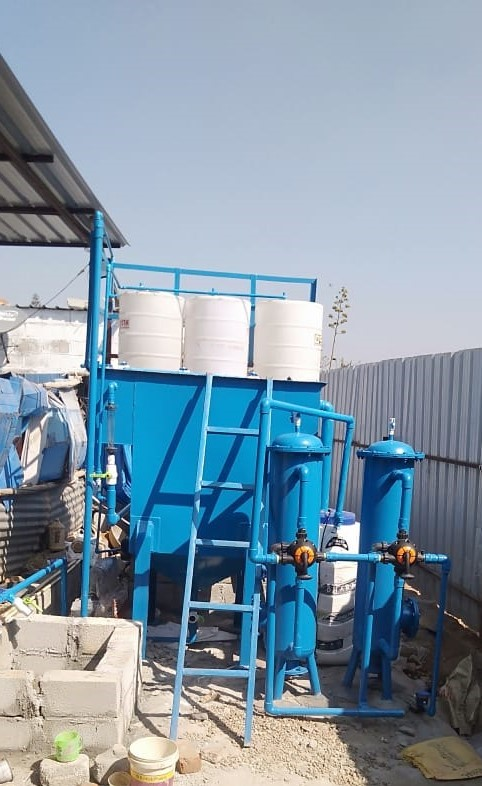Hospital Industry Effluent Water Treatment Plant