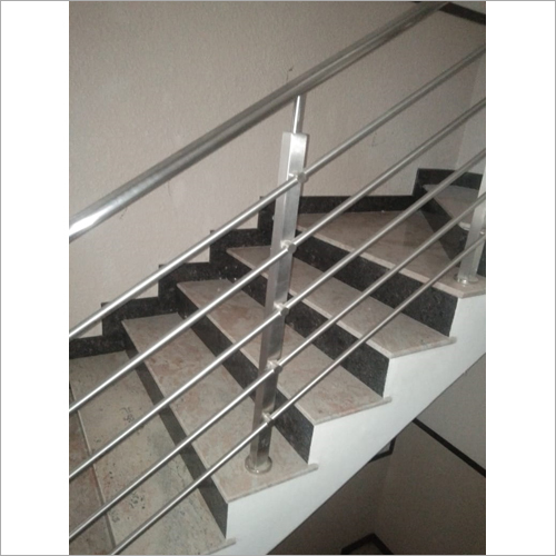 Polished SS Railing