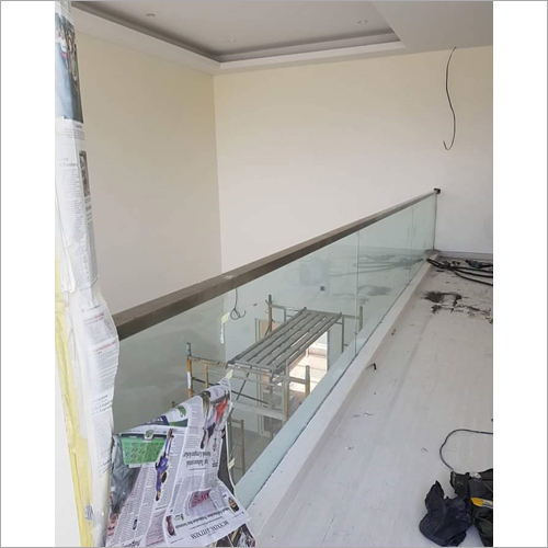 Stainless Steel Balcony Glass Railing