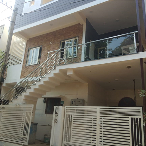 Steel Modern Home Railing