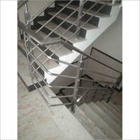 Stainless Steel Office Stair Railing