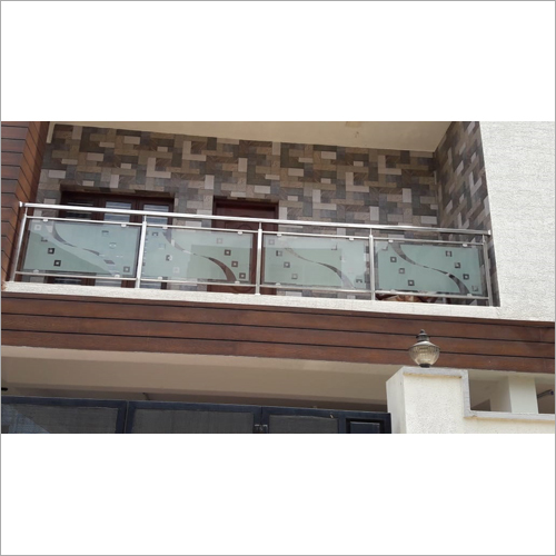 Steel Designer Glass Railing