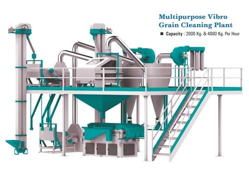 Multipurpose Vibro Grain Cleaning Plant