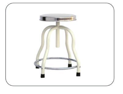 Revolving Patient Stool SS Top