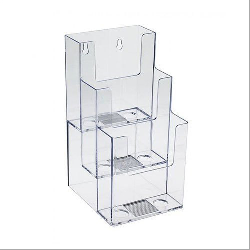 Glass Brochure Holder