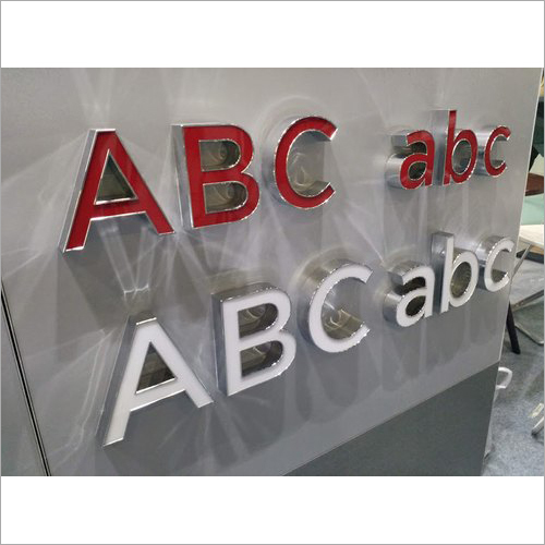 Stainless Steel Letter Signage