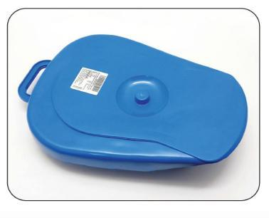 Bed Pan With Cover Polypropylene
