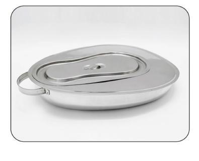 Bed Pan With Lid Stainless Steel