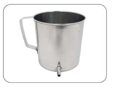 Douche Can Stainless Steel