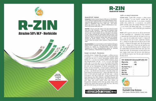 Atrazine 50% WP Weedicides