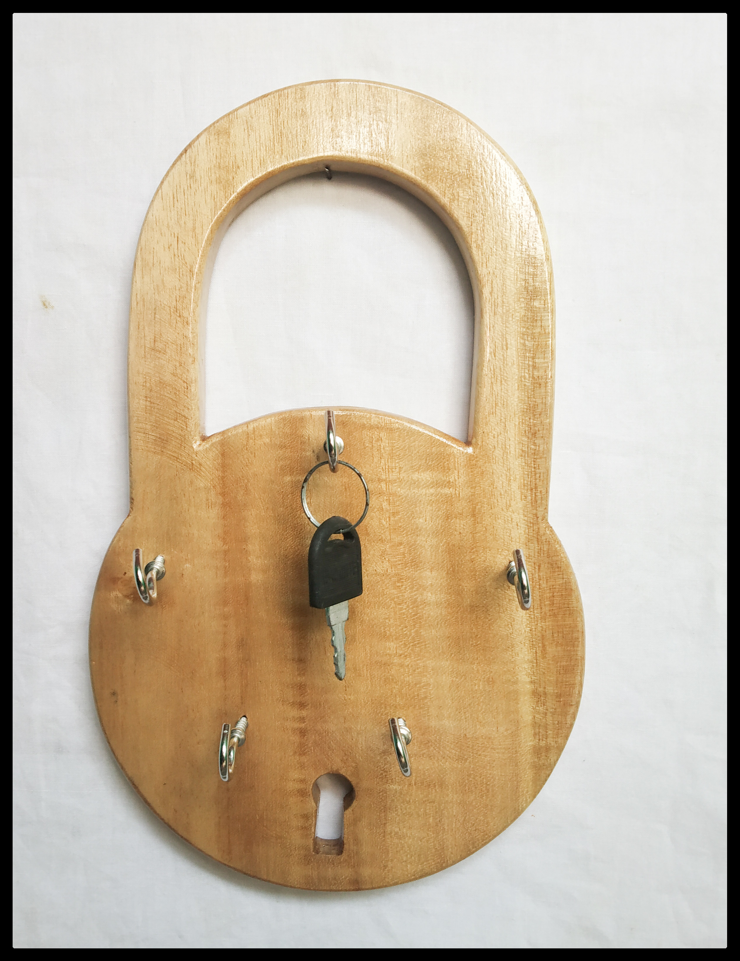 Handmade Wooden Key Holder