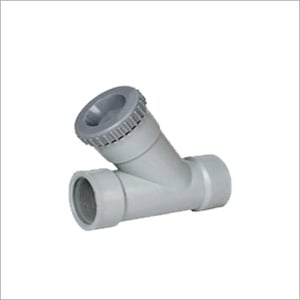PP Y Type Strainer Fitting