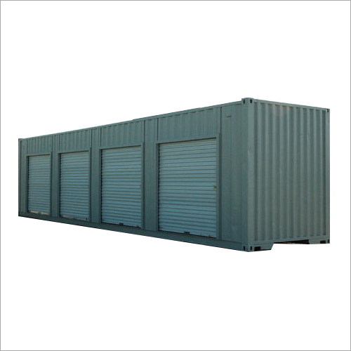 Coated Steel Storage Shipping Container