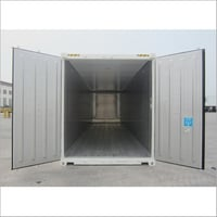 20 Ft White Refrigerator AC Shipping Container