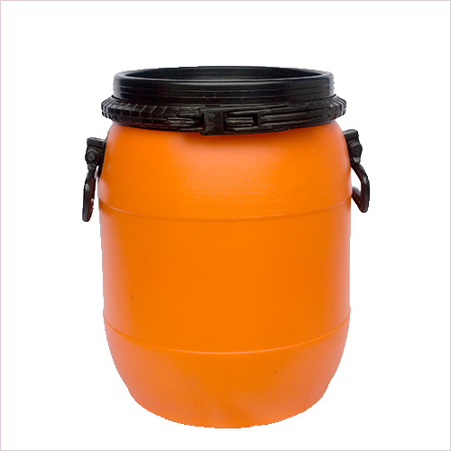 25 Ltr Round Open Mouth Drum