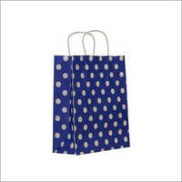Polka Dot Print Paper Bag