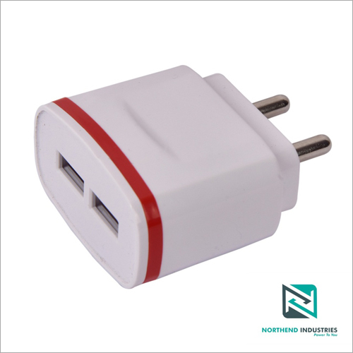 5v 2 Amp Dual USB Port Mobile Charger