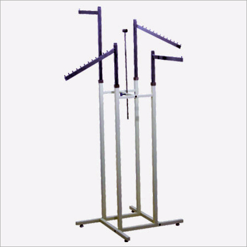 Mild Steel Four Way Hanger Stand
