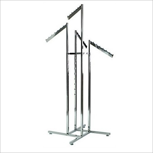 4 Way Four Way Hanger Display Stand