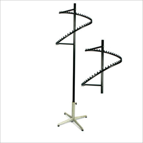 Spiral Clothes Display Stand