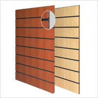 Wall Mounted Slatwall Panel