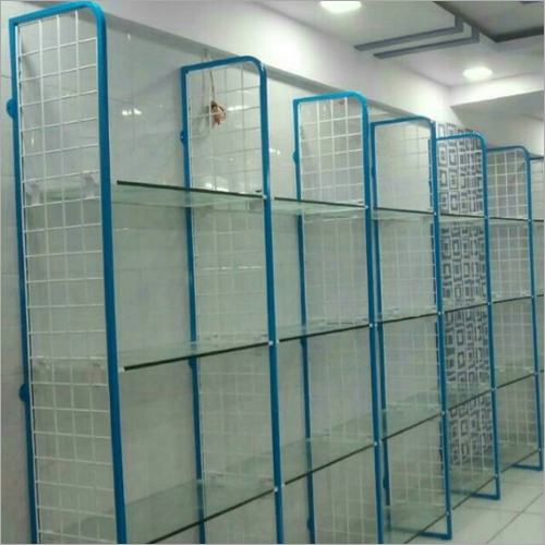 Wire Mesh Shop Display Rack